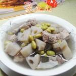 毛豆莲藕排骨汤