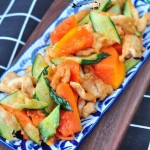 木瓜熘雞片