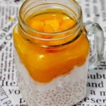 芒果椰奶西米露