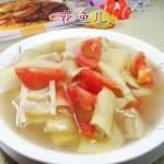 番茄羊尾笋土豆汤