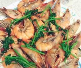 清炒基围虾