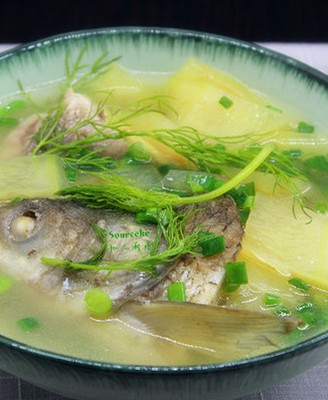 西瓜皮鱼汤