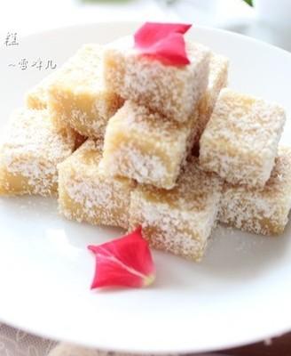 雪花豌豆凉糕