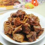 黄花菜烧排骨