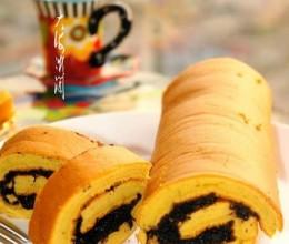 黑小麦粉蛋糕卷