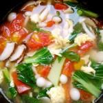 高颜值瘦身汤~双菇番茄蛋汤