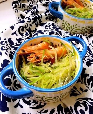 萝卜粉丝炖虾