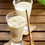 黄桃酸奶冻