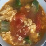 番茄丝瓜蛋汤
