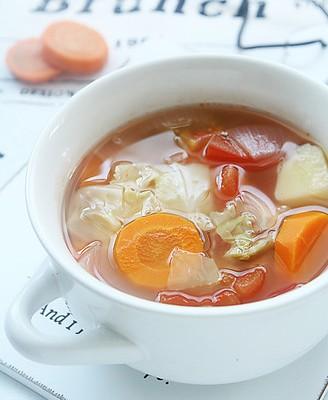 苹果醋蔬菜瘦身汤