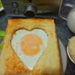 爱心满满简易三明治