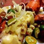 奶油芝士焗龙虾