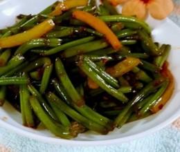 青椒红薯梗