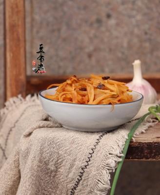 豆豉辣椒酱拌土豆丝