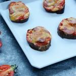 香肠茄子薄饼