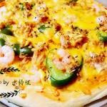 金枪鱼鲜虾披萨