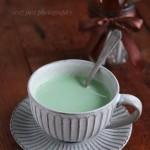 抹茶牛奶冰