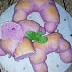 紫薯牛角包