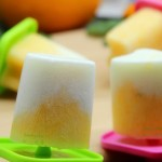 香橙酸奶冰棍