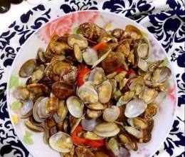 辣椒炒小花蛤