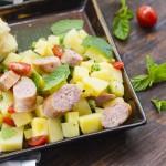土豆香肠沙拉