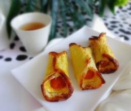 玉米肠芝士面包卷