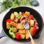 香煎香肠土豆