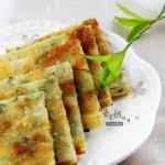 剩余饺子皮的妙用——香葱千层饼