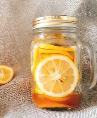 自帶解暑特效的蜂蜜檸檬片