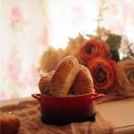 黑芝麻燕麦小面包