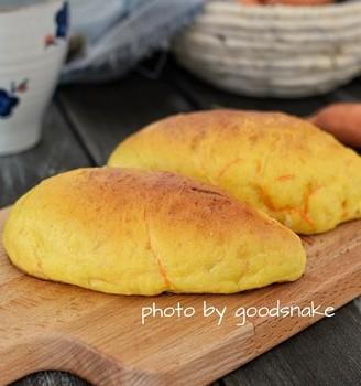 胡萝卜面包