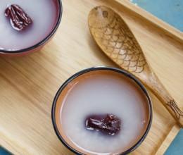 红枣大米粥