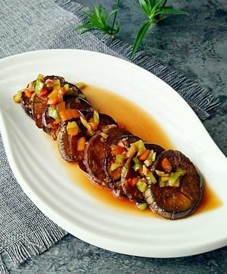 鱼香炒茄片