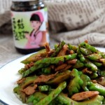 香菇豆豉苦瓜炒肉
