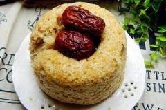 红枣全麦粉发糕