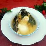 红艾鸡蛋汤