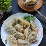 菠菜鲜肉酱香饺子