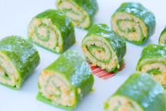 三文鱼菠菜卷  宝宝辅食食谱