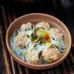 砂锅酸菜丸子汤