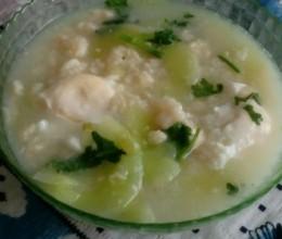 瓜片疙瘩汤
