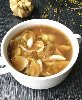 绿豆百合汤