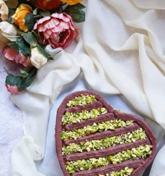 开心果巧克力蛋糕