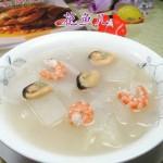双鲜冬瓜汤