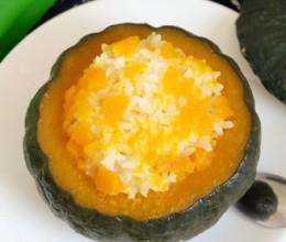 南瓜米饭盅