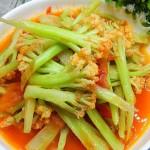 茄子汁花菜