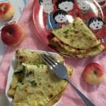 早餐米饭鸡蛋饼