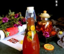 洛神花水果茶