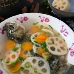 鲫鱼莲藕汤