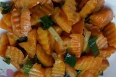 蚝油红萝卜