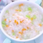 时蔬鲜虾粥 宝宝辅食食谱